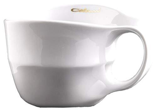 Colani Designer Jumbotasse große Tasse Humpen Kaffeetasse ab OVO Color 450ml (Weiß)