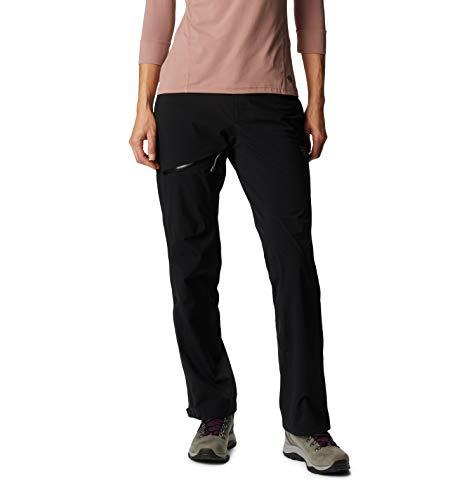 Mountain Hardwear Women's Standard Stretch Ozonic Pant, Black, Small x Regular