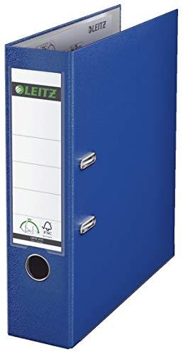Leitz 10105068 Qualitäts-Ordner (Plastik-Cover, A4, 8 cm Rückenbreite) nachtblau