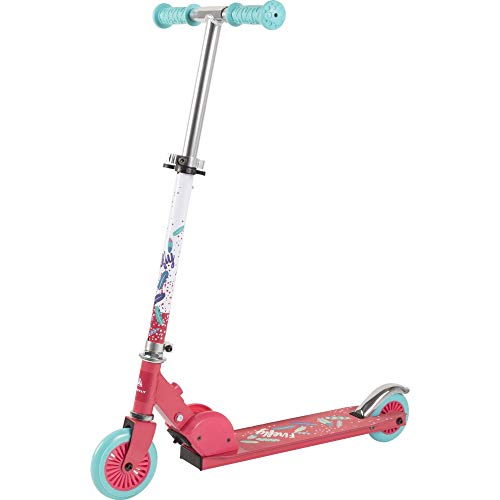 Firefly Unisex Jugend A 120 Kickscooter, PINK/Blue Light/Whit, One Size