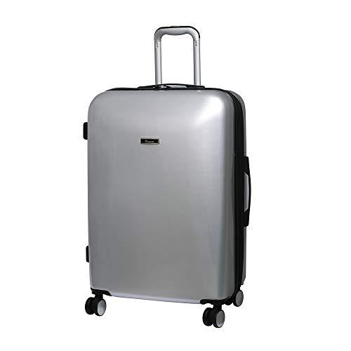 it luggage Sheen 8 Wheel Hard Shell Single Expander Suitcase, 70 cm, 107 L, Metallic Silver