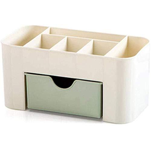 wangYUEQ Caja de Almacenamiento-Caja de Almacenamiento de cosméticos de Escritorio con Caja de Almacenamiento de Caja de joyería pequeña (Color:c) (Color : B)