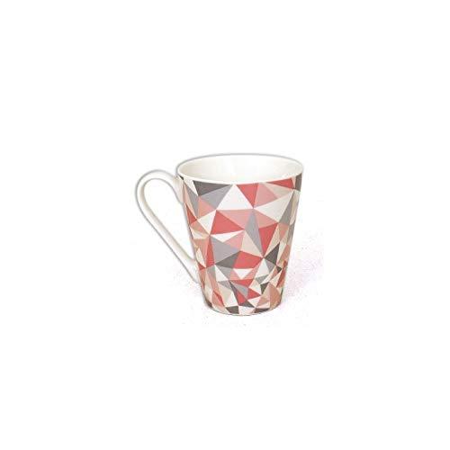 Mug Grafik - 325mL - 10 x 8,5 cm - Porcelaine