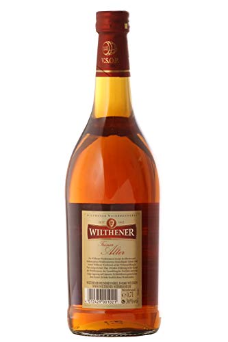 Wilthener Feiner Alter Weinbrand 36% vol., Brandy in V.S.O.P.-Qualität, in Limousin-Eichenholzfässern gelagert (1 x 0.7 l) - 4