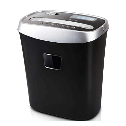 Buy ZLDQBH Electric Shredder, 6-Sheet Granular-Cut Paper Paper and Credit Card Home Office Shredde...