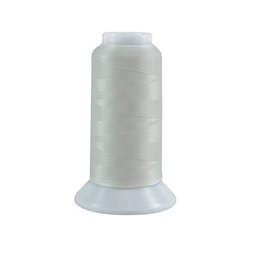Superior Threads 11402-621 Lace White 60W Bottom Line Polyester Thread, 3000 yd
