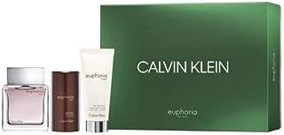 Calvin Klein Spray Euphoria para El, After Shave Balm y Deodorant, 275 ml