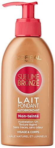 LOréal Paris - Sublime Bronze Lait Fondant Autobronzant Visage/Corps - 150 ml
