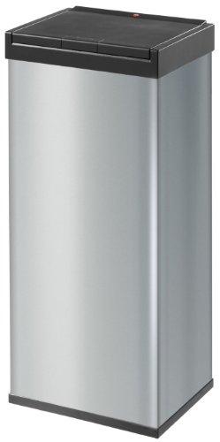 Hailo Big-Box Touch XL, Mülleimer, 52 Liter, One-Touch-Deckelöffnung, Müllbeutel-Klemmrahmen, made in Germany, 0860-601