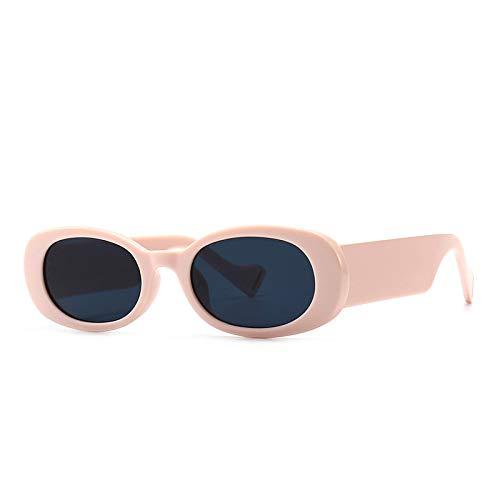 ShZyywrl Gafas De Sol De Moda Unisex Gafas De Sol Vintage Mujer Hombre Gafas De Sol Rectangulares Dama Retro Oculos De Sol Uv400 4