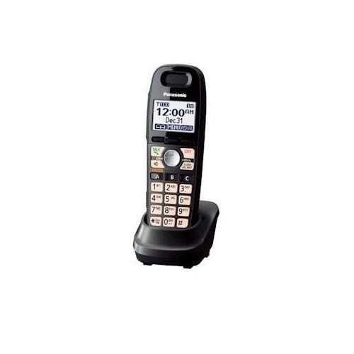 Panasonic DECT 6.0 Accessory Handset with Caller ID for KX-TG659 Series - Black