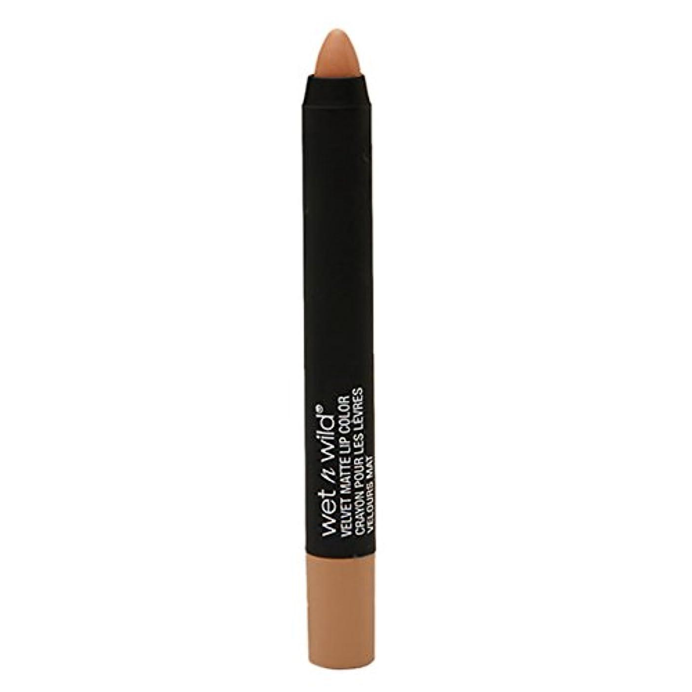 のみ子羊委託(3 Pack) WET N WILD Velvet Matte Lip Color - Nude Streak (並行輸入品)