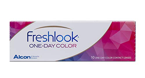 FreshLook One Day Pure Hazel Tageslinsen weich, 10 Stück/BC 8.6 mm/DIA 13.8/0 Dioptrien