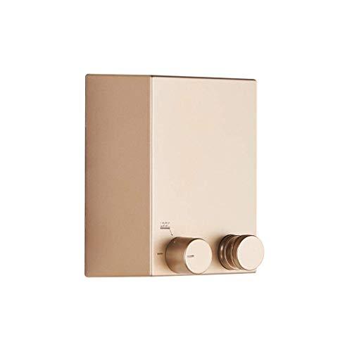 Balcón Tendedero Punch-libre de baño de acero inoxidable for tender la ropa interior al aire libre telescópico telescópico Longitud 4,2M (Color: Oro, Tamaño: 4,2 m) ZHNGHENG
