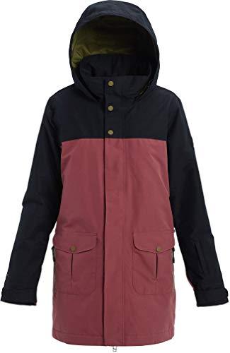 Burton Women's Women's Gore-tex Eyris Jacket, True Black/Rose Brown, Medium