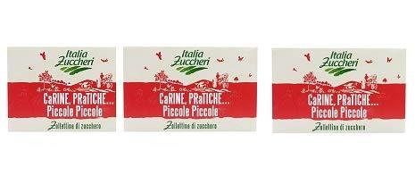 Zucchero in piccole zollette- Italia Zuccheri - tre pacchi da Kg 1 cadauno