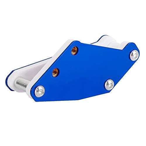 Motoroliefilter, aluminium benzine Stookoliefilter Motoraccessoires voor motorcross, ATV, skelter, kleine sportwagen(Blauw)