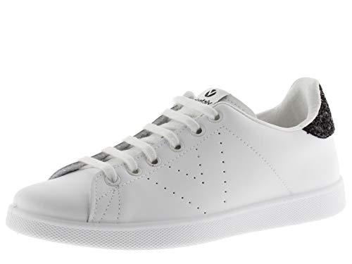 Victoria 1125104-WOMEN Sneaker Tennis Cuir Basses Femme Negro 39