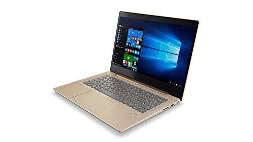 "Lenovo Ideapad 520S-14IKB - Ordenador portátil 14"" FullHD (Intel Core i5-8250U, 8 GB RAM, 256GB SSD, Intel UHD 620, Windows 10 Home) Bronze - Teclado QWERTY Español"