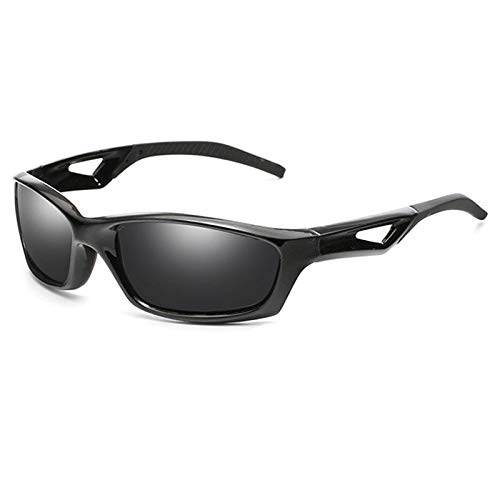 YJDZHSQ Gafas De Sol Hombres De Calidad Polarizada Gafas De Sol Clásicas De Conducción Cuadrada Gafas De Sol Gafas De Sombra Masculina Uv400