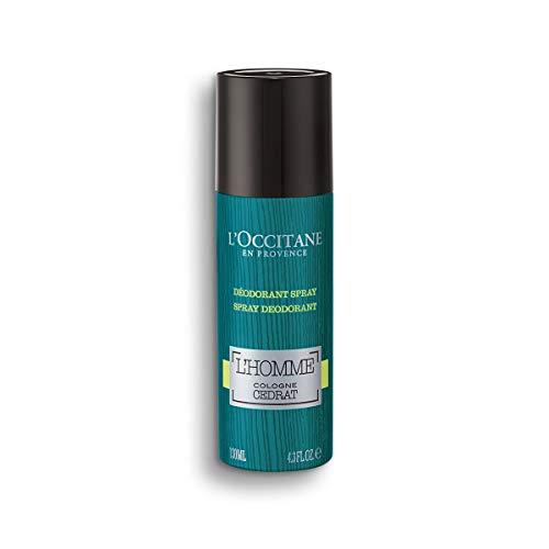 L'Occitane L'Homme Cologne Cedrat Déodorant Spray er Pack( x )