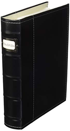 Bellagio-Italia CD/DVD Storage Binder (Black)