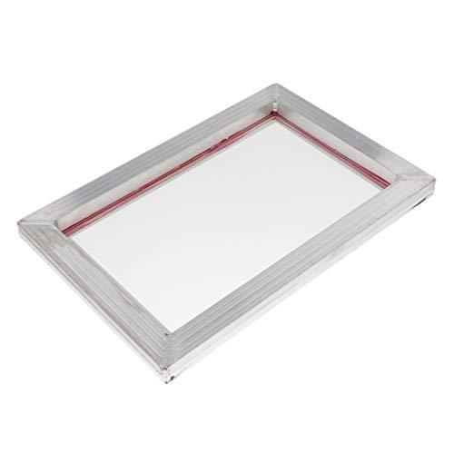 H HILABEE Siebdruckrahmen Siebdruckgewebe Für Leiterplatte 43T - 31x43cm