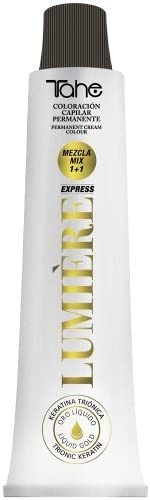 Tahe Lumière Express Tinte Fantasia Coloración Capilar Permanente/Tinte Pelo/Coloración de Cabello/Tinte de Cabello para Tonos Pastel y Fantasía, ...