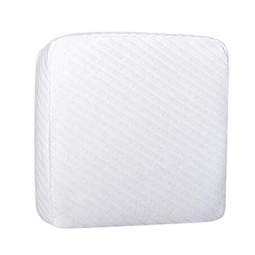 Best-mall Pillow Orthopedic Neck Support Cushion - Pillow Made of Pressure-compensating visco-Gel Foam (Memory Foam) - Pillow in 35x28cm Height 10cm