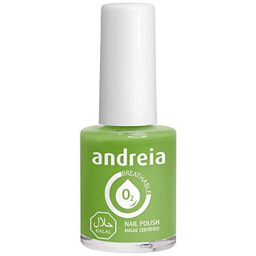 Andreia Halal ademend nagellak Vernis - Waterdoorlatend - B10 groen - Shades of Blue | 10,5 ml