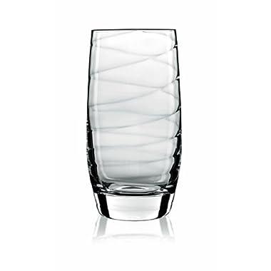 Luigi Bormioli Set of 4 Romantica Beverage Glasses, 19-Oz.