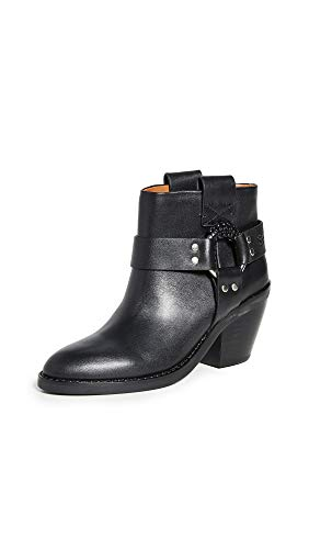 See by Chloe Damen Eddie Stiefeletten Western Boots Nero Schwarz, Schwarz (schwarz), 36.5 EU