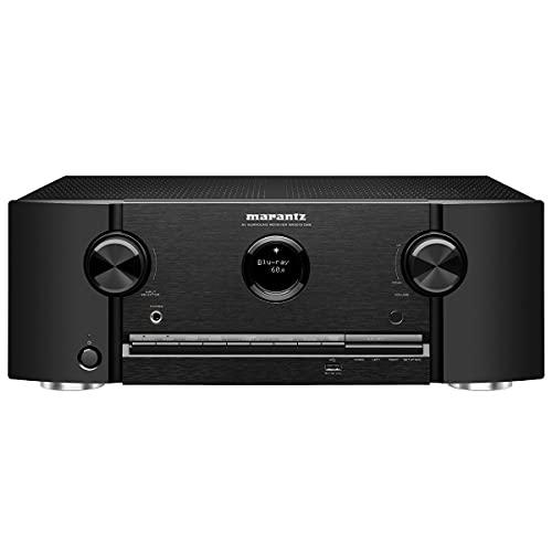Marantz SR5015DAB 7.2-Kanal AV-Receiver, Hifi Verstärker, Alexa kompatibel, 6 HDMI Eingänge und 2 Ausgänge, 8K Video, WLAN, Musikstreaming, Dolby Atmos, AirPlay 2, HEOS Multiroom, DAB+ Radio