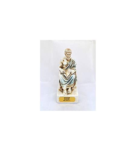 Plato Skulptur Platon Statue antiker griechischer Philosoph 428-348 v. Chr.