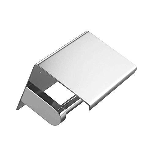 CESULIS Soporte de papel higiénico montado en la pared con estante SUS304 acero inoxidable cromado accesorio de baño titular de rollo de inodoro organizadores/estantes