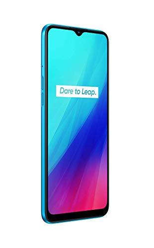 "Realme C3 - Smartphone de 6.5"" LCD multi-touch, 3 GB RAM + 64 GB ROM, Procesador Helio G70 OctaCore, Batería de 5000mAh, Cámara Dual AI 12MP, Dual Sim, Color Frozen Blue"
