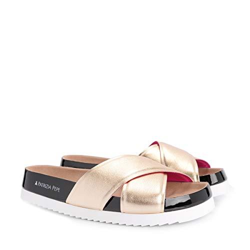 PATRIZIA PEPE Pantofole - 2V7035/A2SH-X2HG - Size 36 (EU)