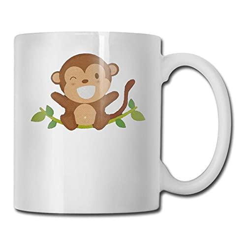 Monkey Tazza da caffè in ceramica regalo per i migliori amici , Famiglia11Oz