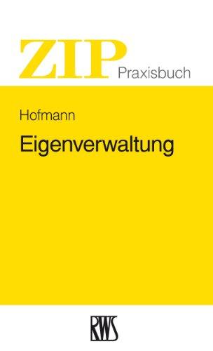 Eigenverwaltung (ZIP-Praxisbuch)
