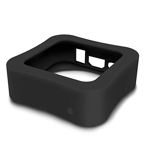 AWINNER Protective Case Compatible for Apple TV 4K 5th / 4th - [Anti Slip] Shock Proof Silicone Cover for Apple TV (Black)