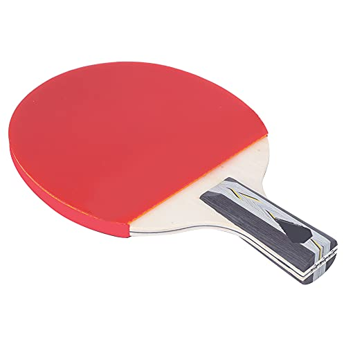 Suave Mesa Tenis Raqueta, Profesional Apestar Paleta con Madera y Caucho