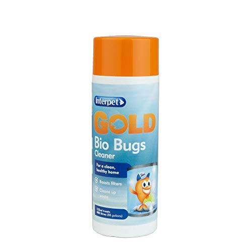 Interpet Gold Bio Nettoyant Anti-Insectes pour Aquariums, Aquariums, amplifie Les filtres, nettoie Les déchets 125 ML