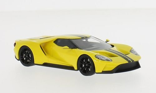 Truescale Miniatures- Miniature Voiture de Collection, TSM1643100, Jaune