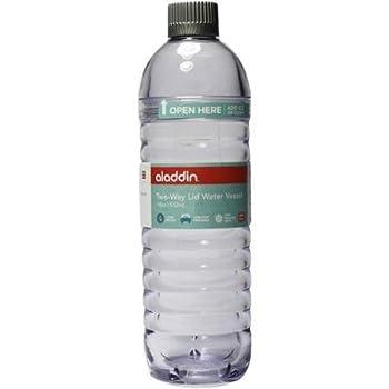 Aladdin 2-Way Lid Water Vessel 18 oz  Clear
