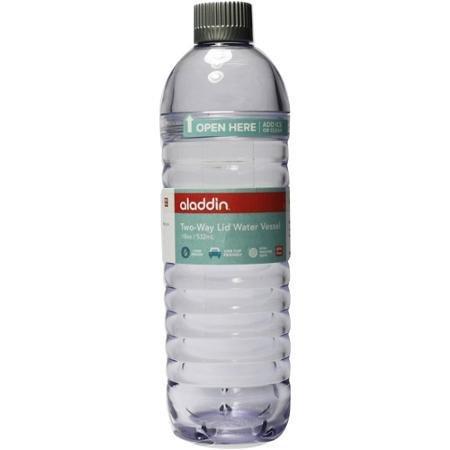 Aladdin 2-Way Lid Water Vessel, 18 oz (Clear)