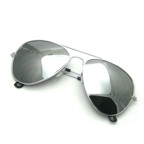 e30f4802c Henbrandt Sunglasses - Silver Mirror Shades - UV400 Protection - Unisex:  Amazon.co.uk: Toys & Games