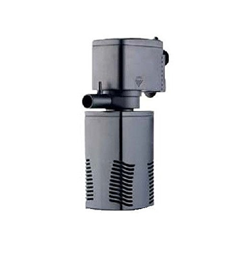 AquaOne JP-22F Aquarium Innenfilter 600 L/h Filter Filtersystem Aquarien Eckfilter Pumpe Schwammfilter Leise