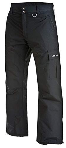 Arctix Men's Mountain Premium Snowboard Cargo Pants, Black, Small (29-30W 32L)