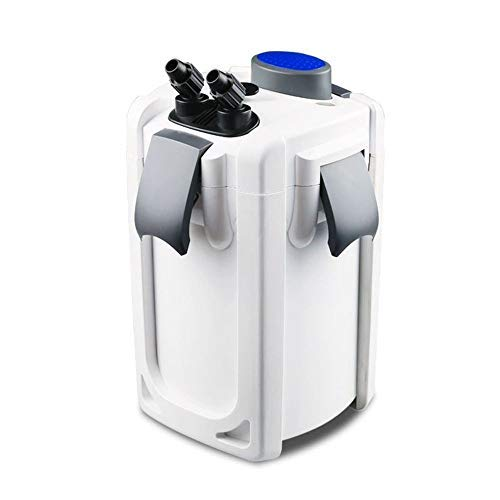 AquaOne Aquarium Außenfilter HW-703A 30W 1400 L/h bis 700l Becken Filtermaterial Pumpe Filter Schwammfilter Wasserfilter Leise