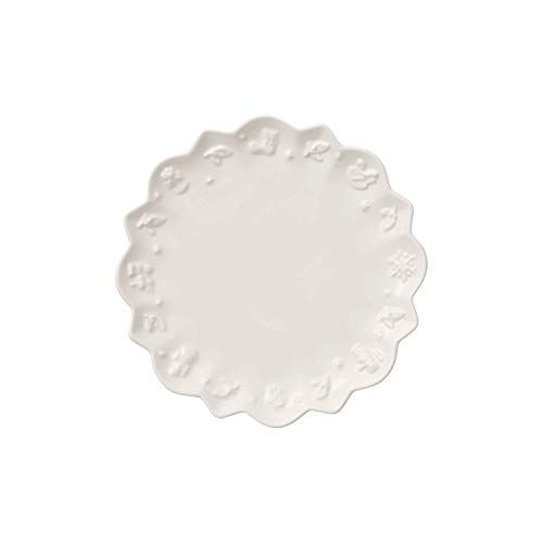 Villeroy & Boch Toy\'s Delight Royal Classic Untertasse, 18,5 cm, Premium Porzellan, Weiß